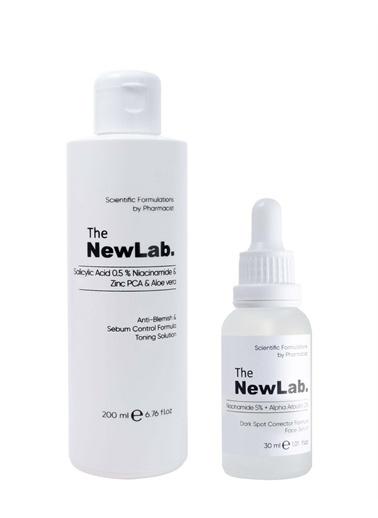 The NewLab Koyu Leke ve Gözenek Karşıtı Bakım Seti Renksiz